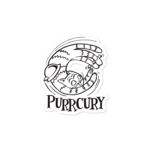 Purrcury Sticker Small