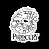 Purrcury Sticker Medium