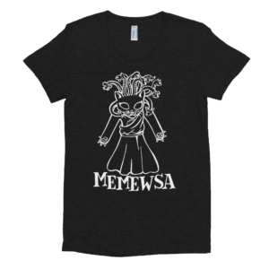 Memewsa Woman's T-shirt cat gift