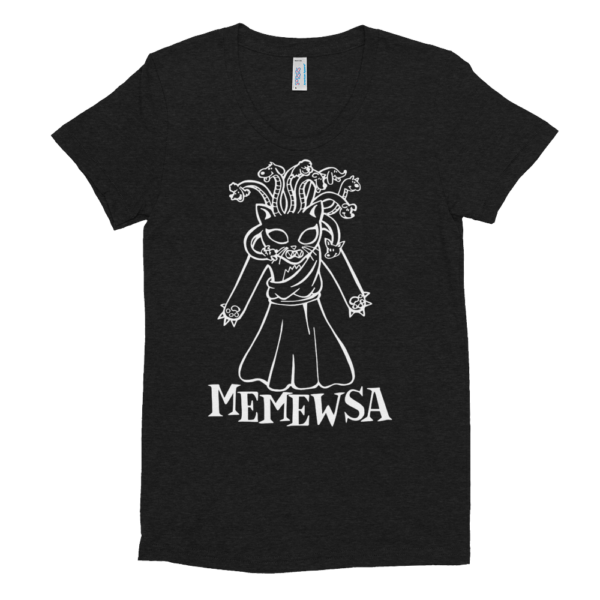 Memewsa Woman's T-shirt cat gift