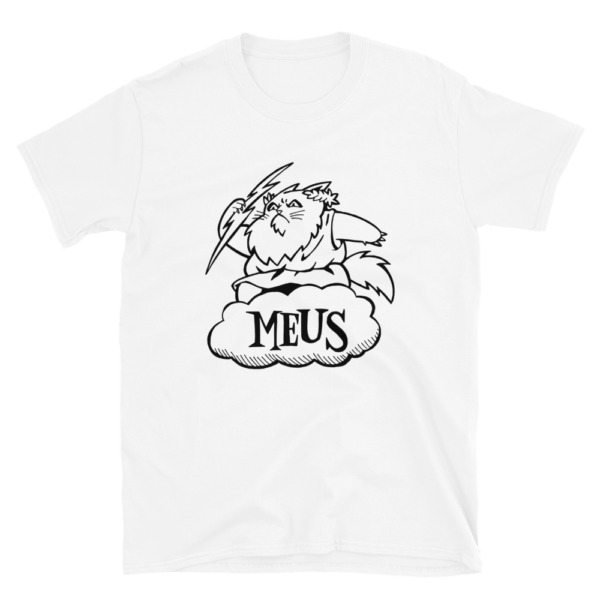Meus White T-shirt Cats Graphics Gifts