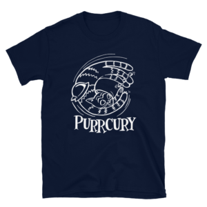 Purrcury Blue T-shirt