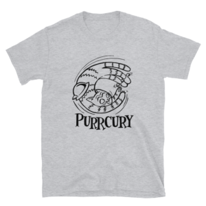 Purrciry Gray T-shirt