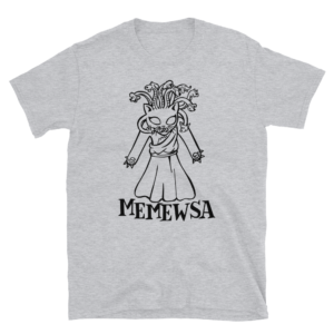 Memewsa Gray T-shirt