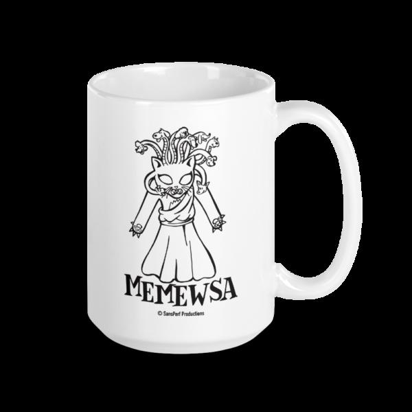 Memewsa Large Coffee Mug Cats Gift