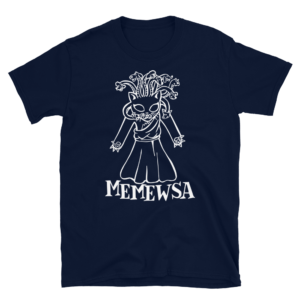 Memewsa Blue T-shirt