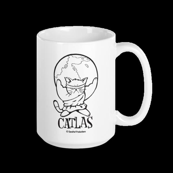 Catlas Large Coffee Mug Cats Large